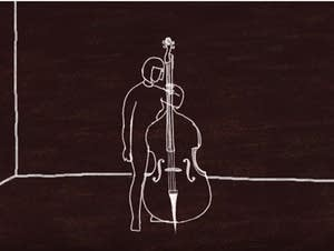 Animated cellist
