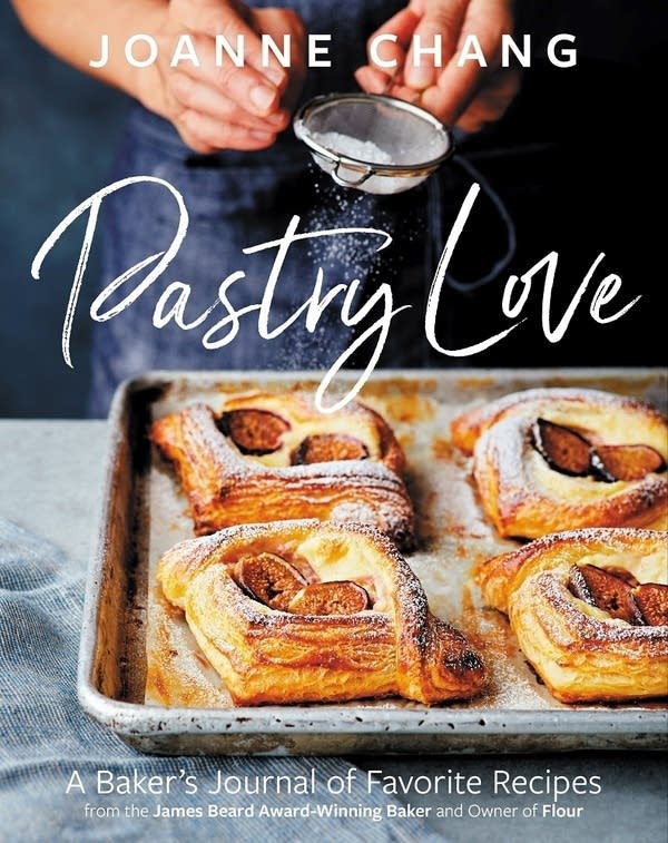 Book cover of Pastry Love, close-up hands making pastry buns