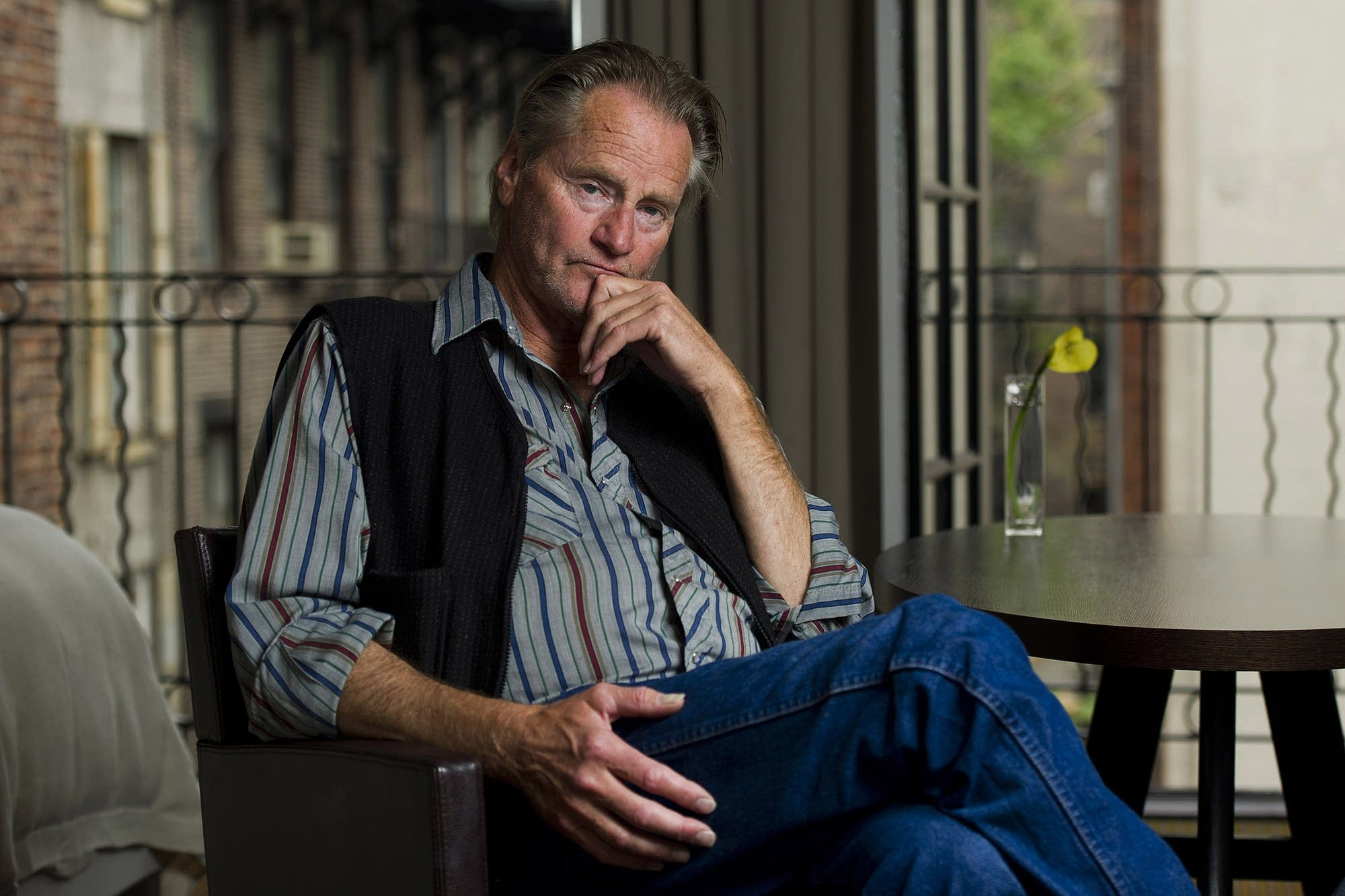 Actor Sam Shepard poses for a portrait