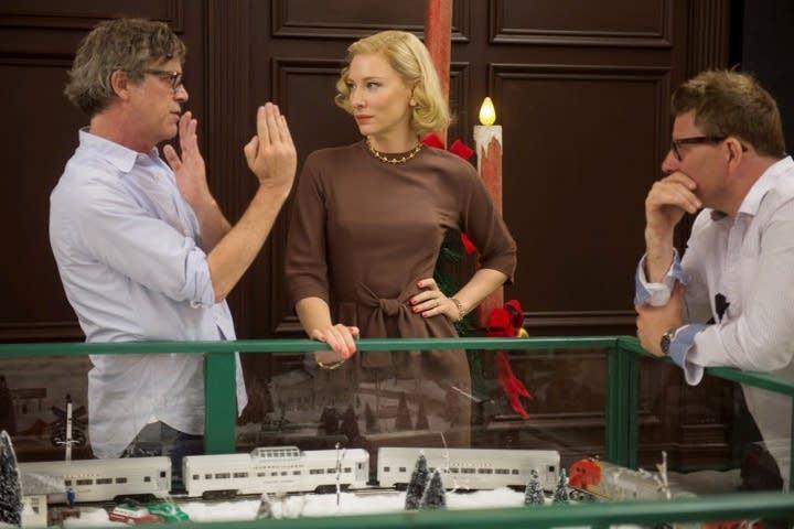 Todd Haynes, left, and Cate Blanchett