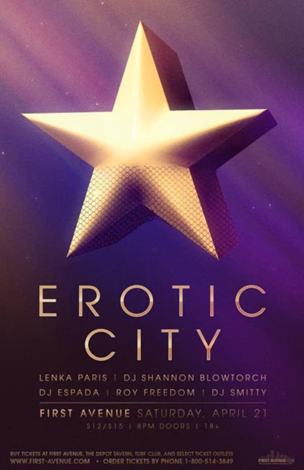 Erotic City Poster