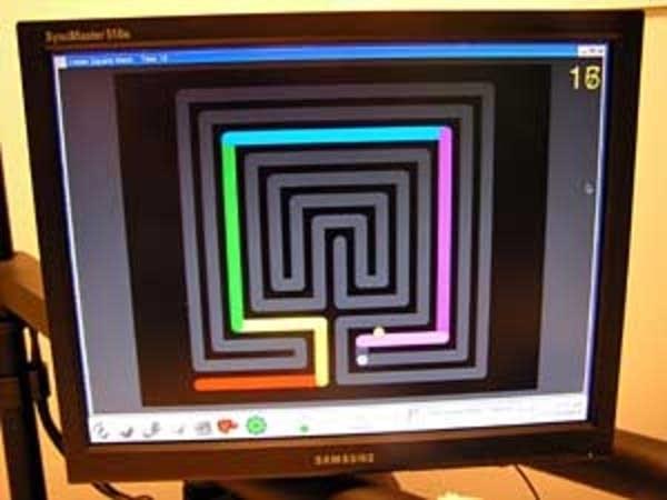 InMotion2's maze