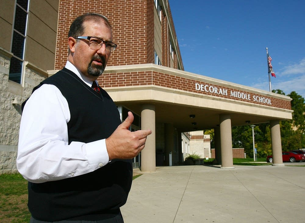Decorah School Superintendent Mike Haluska