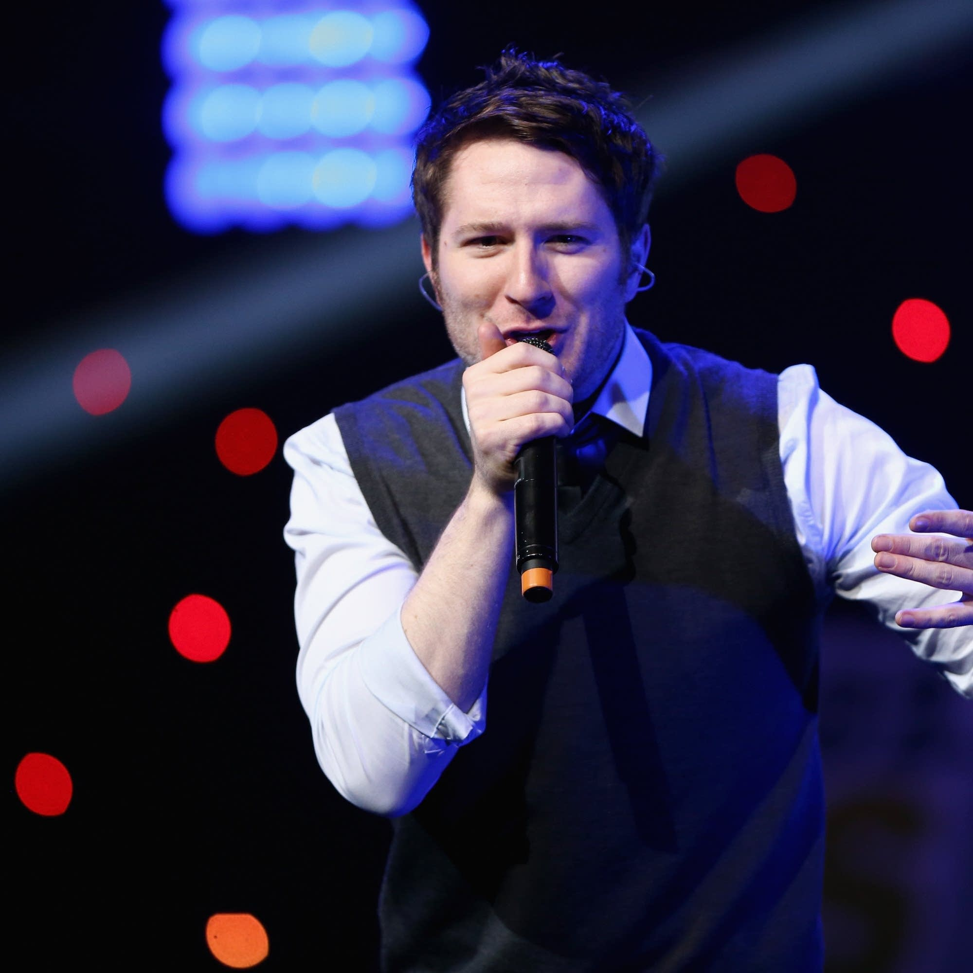Owl City performs in Los Angeles in 2012