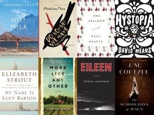 Eight of 13 books on Man Booker Prize longlist