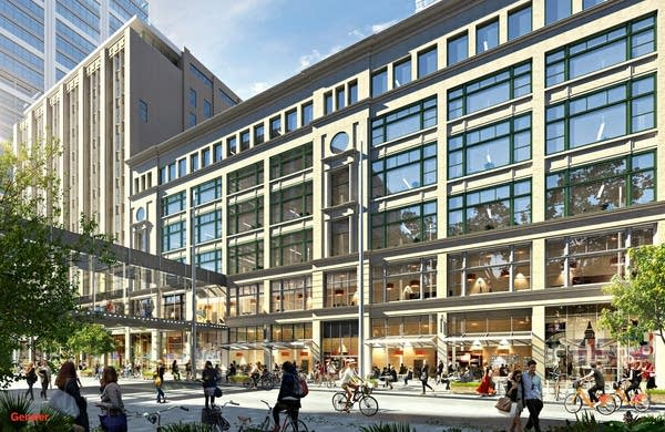 Rendering shows upcoming renovations to downtown Minneapolis Macy's
