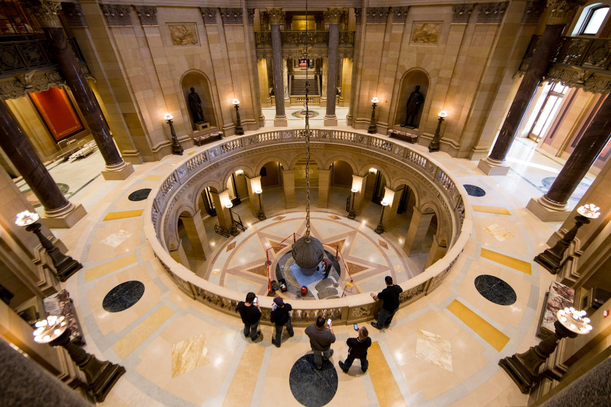 The Rotunda from the third floor.