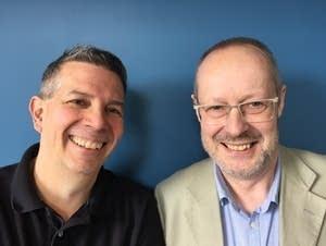 MPR's Steve Staruch and writer Terry Blain