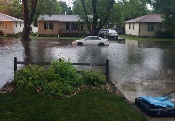 Flooding in Marshall, Minn.