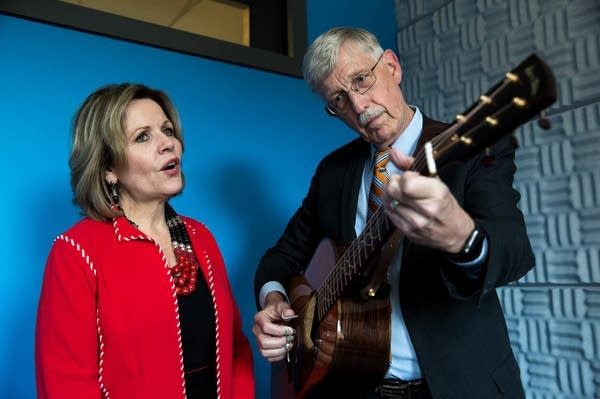 Renée Fleming and Francis Collins