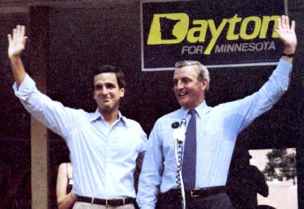 Walter Mondale and Mark Dayton