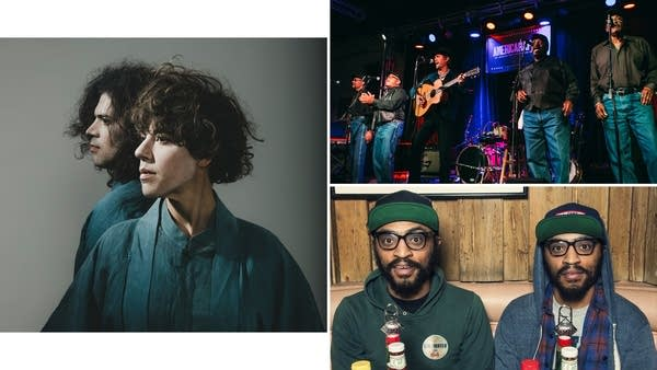 Tune-Yards, Willie Watson, the Fairfield Four, the Lucas Brothers