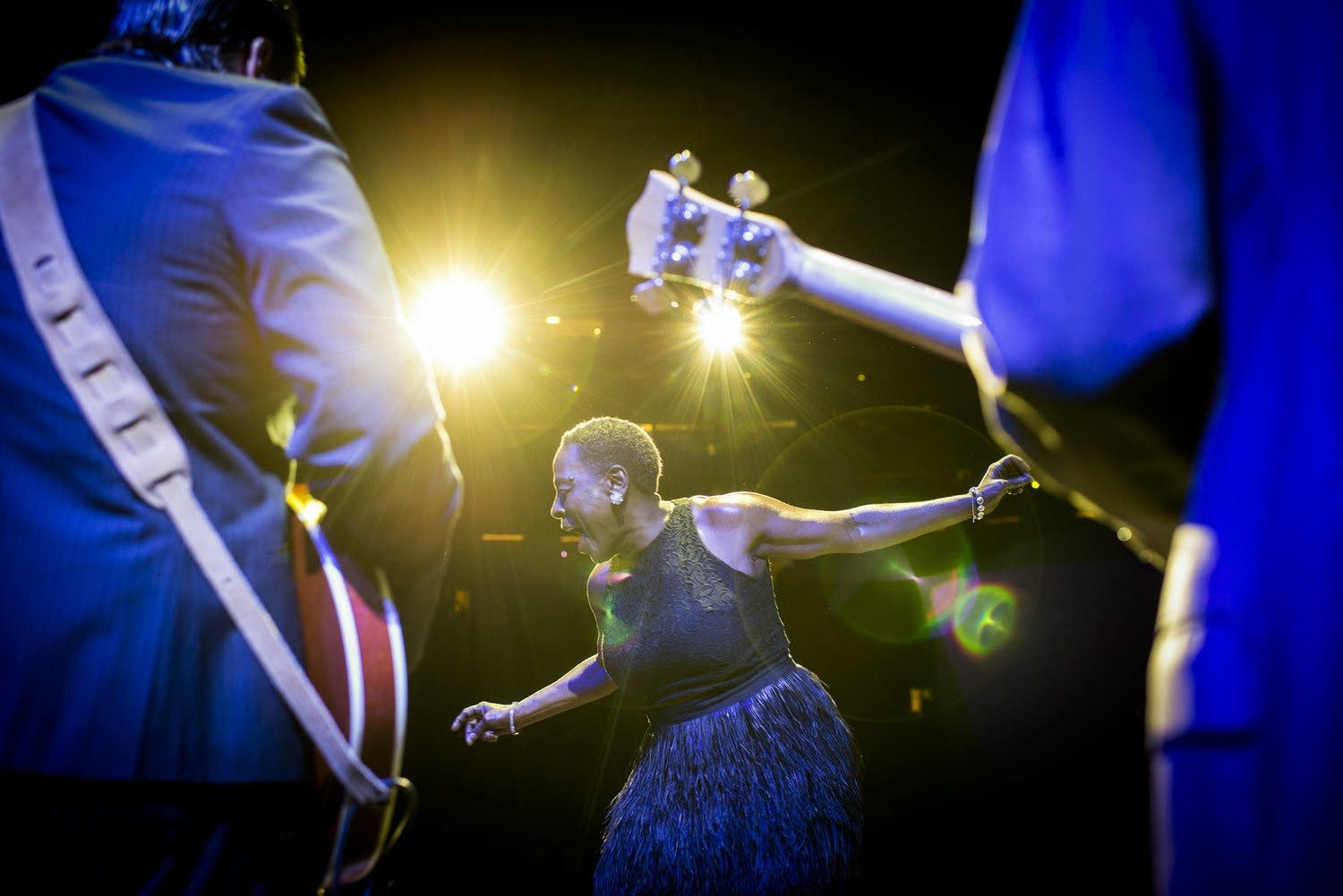 Sharon Jones photos by Jacob Blickenstaff