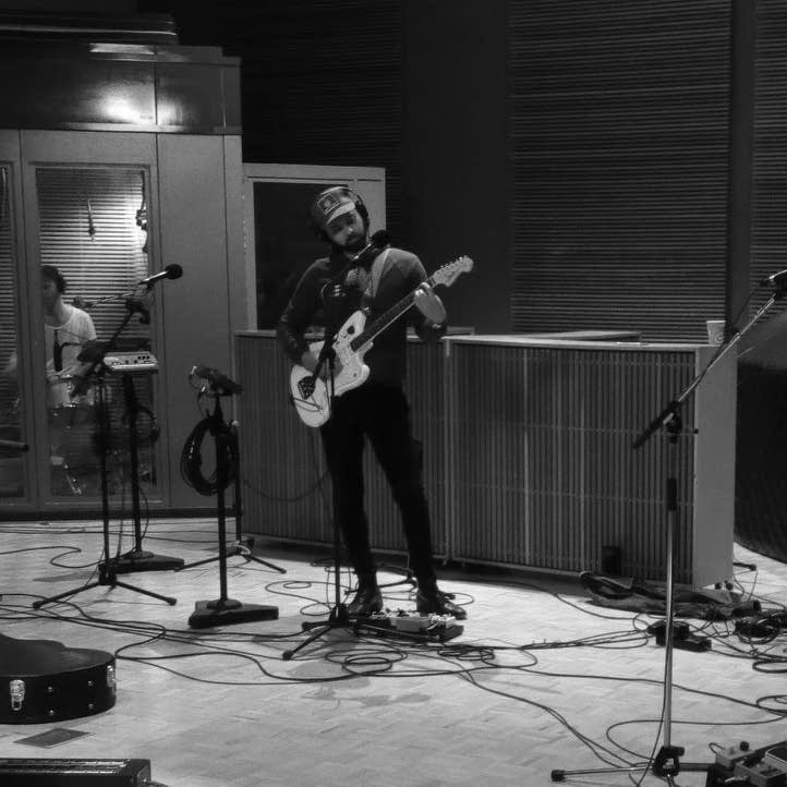 Shakey Graves in The Current studio