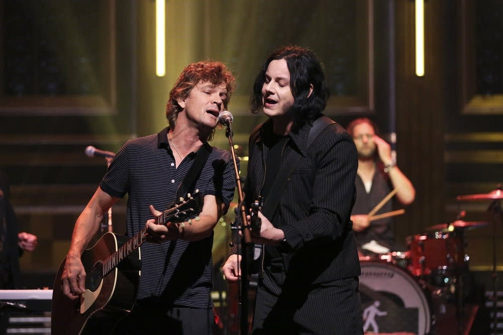 The Raconteurs perform on 'The Tonight Show Starring Jimmy Fallon'