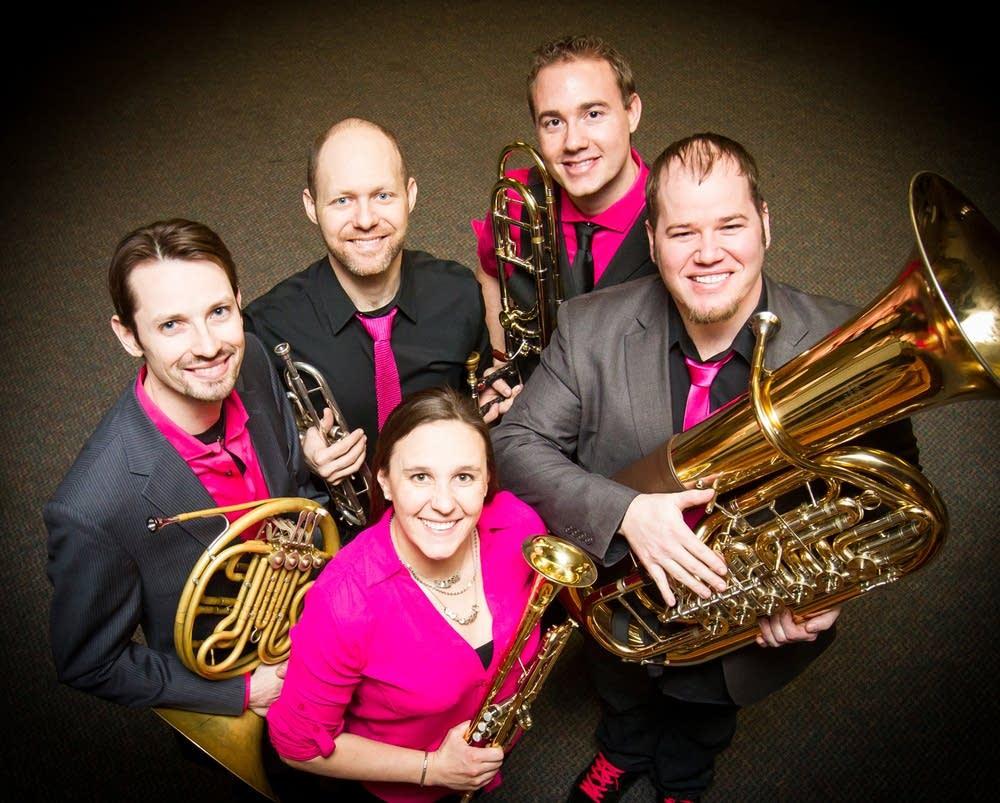 copper street brass quintet, press photo