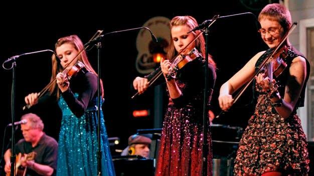 Sedra Bistodeau, Deena Bistodeau, and Catie Jo Pidel