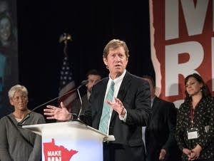 Second District Congressman Jason Lewis concedes.