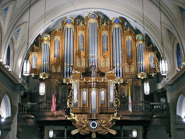 1998 Casavant organ at the Church of Saint Louis, King of France