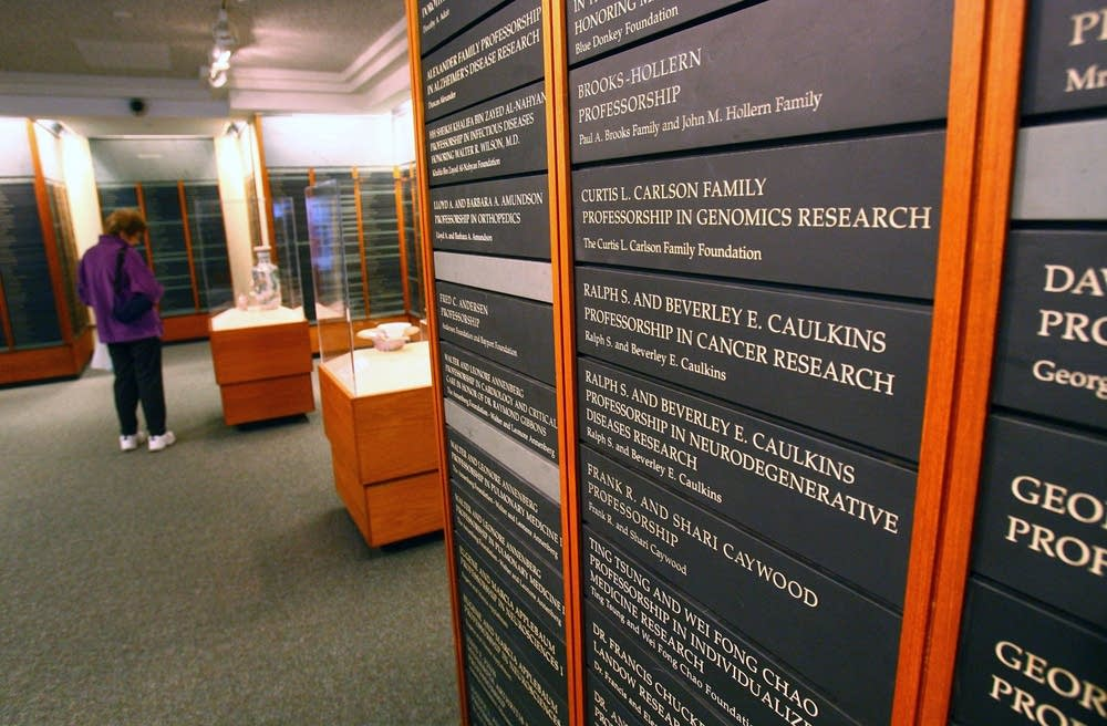 Mayo Clinic Hall of Benefactors