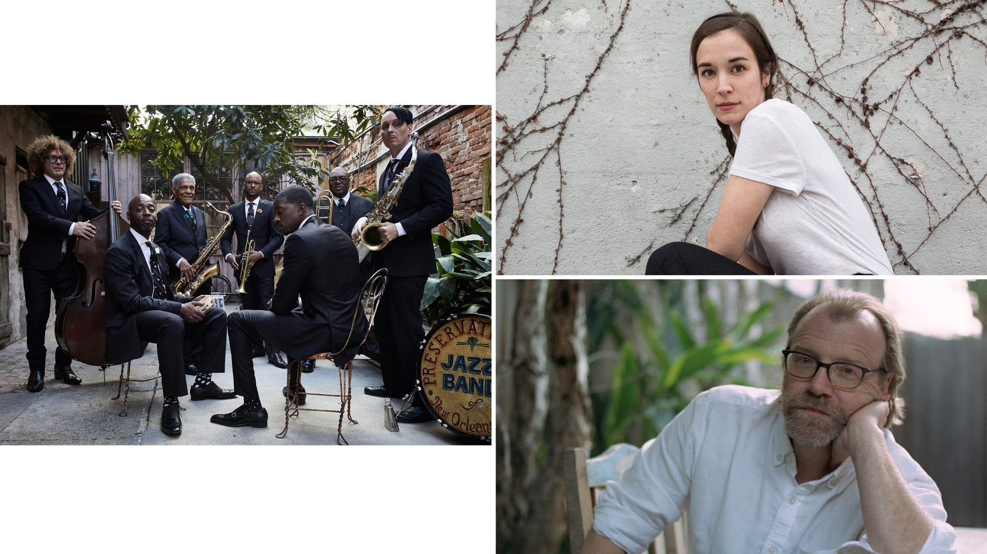 Preservation Hall Jazz Band, Margaret Glaspy, George Saunders
