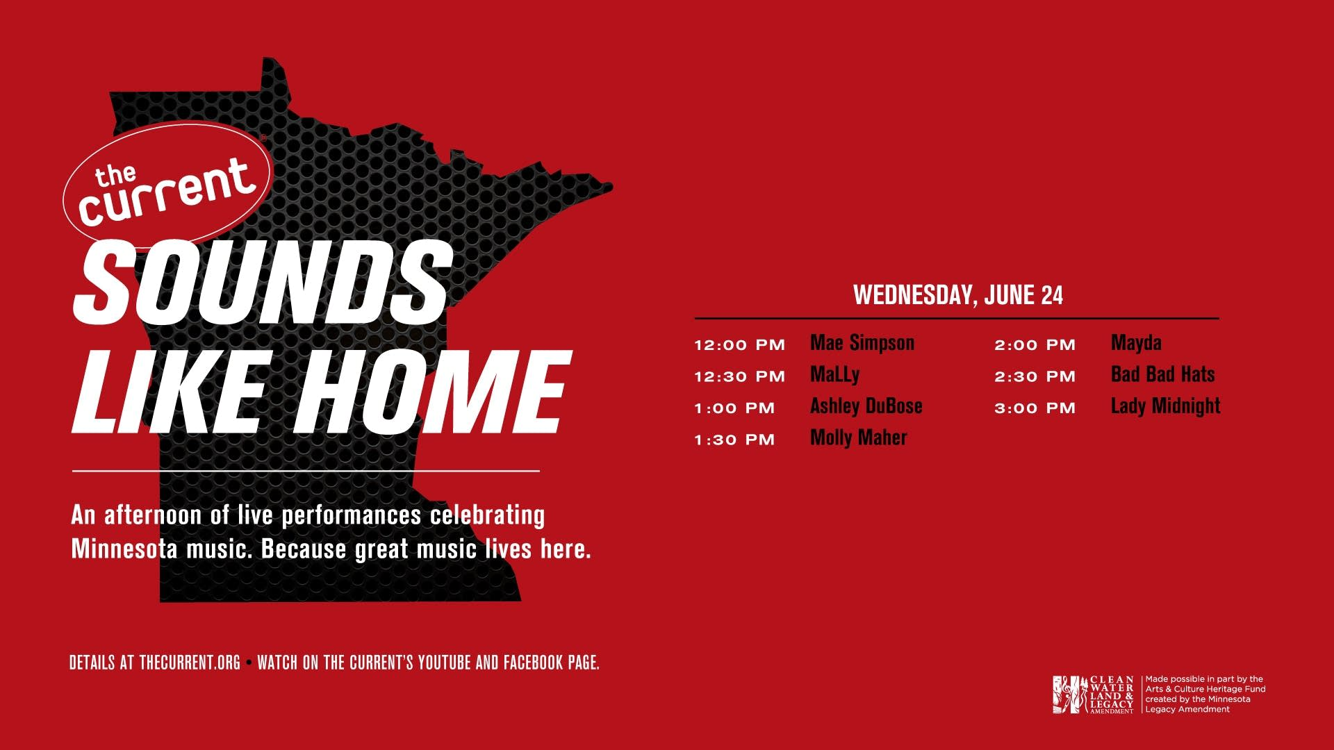 Sounds Like Home II poster graphic
