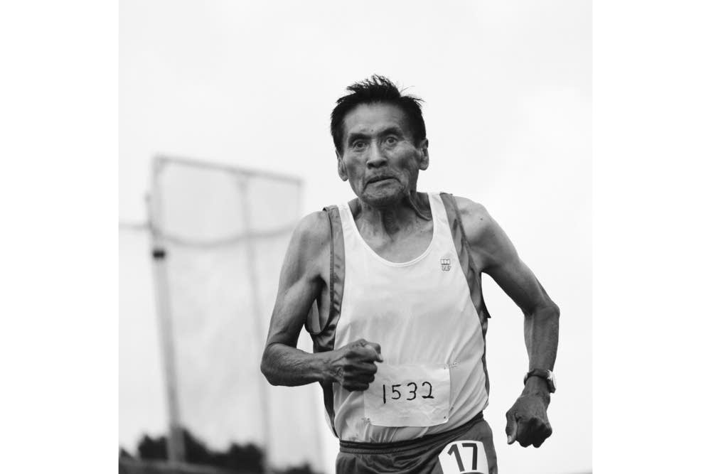 Pueblo runner David Yepa, Sr., 74