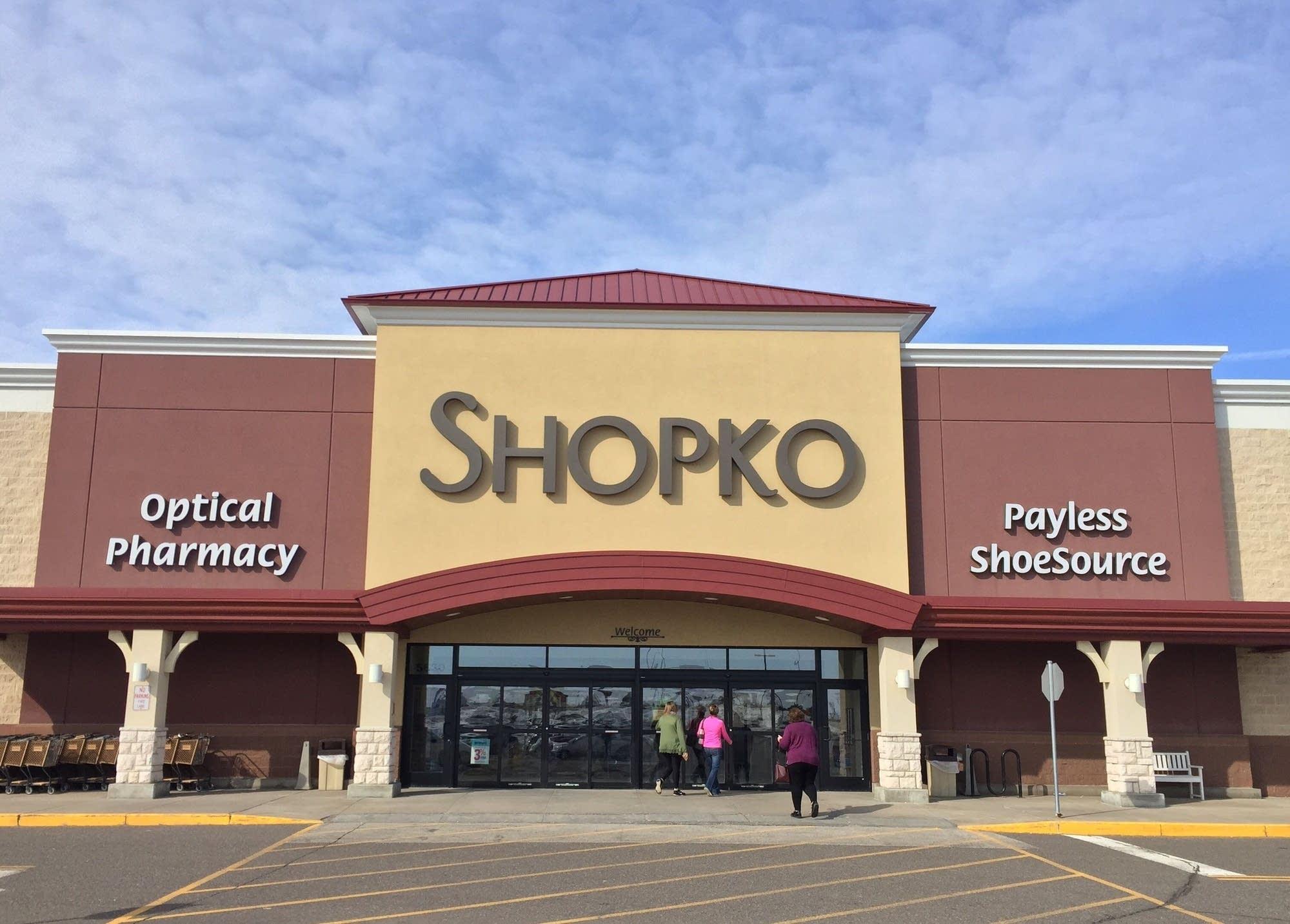 A Shopko retail store in North Branch, Minn.