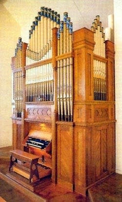 1891 Pilcher-2002 Rule organ at the Tennessee Valley...