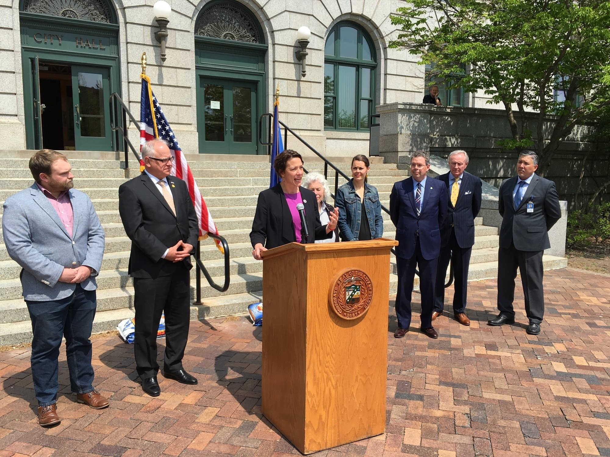 Duluth Mayor Emily Larson discusses the importance of the medical district