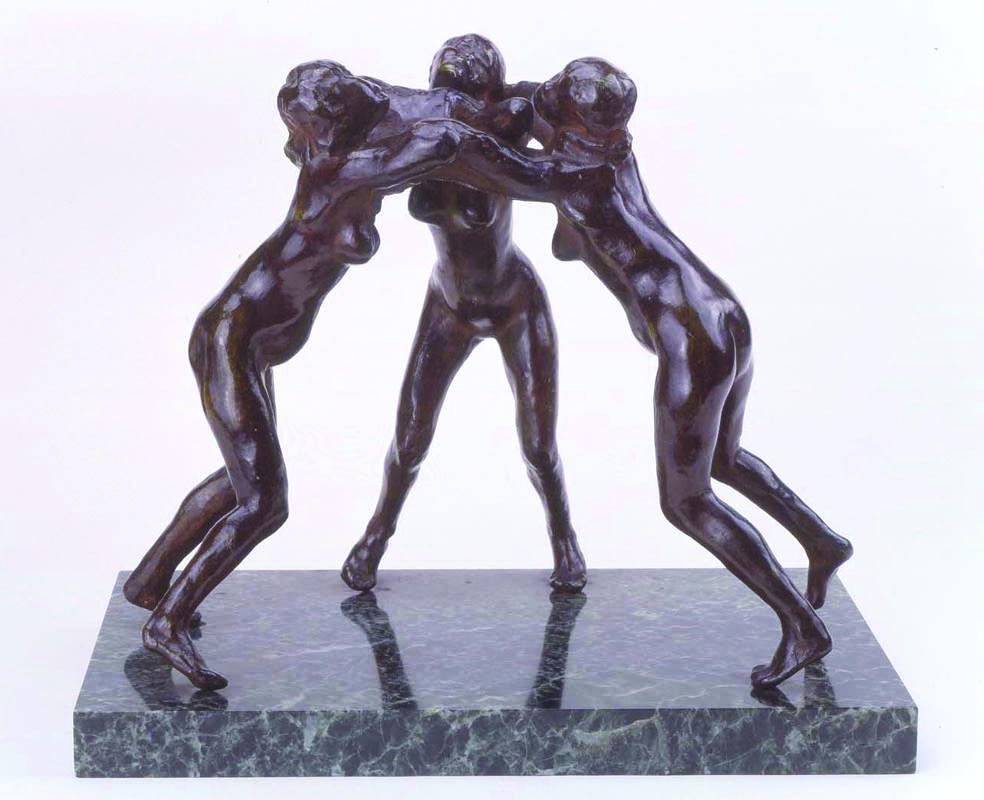 Three Faunesses
