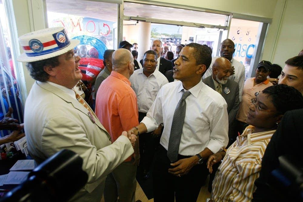 Barack Obama in Ft. Lauderdale, Florida