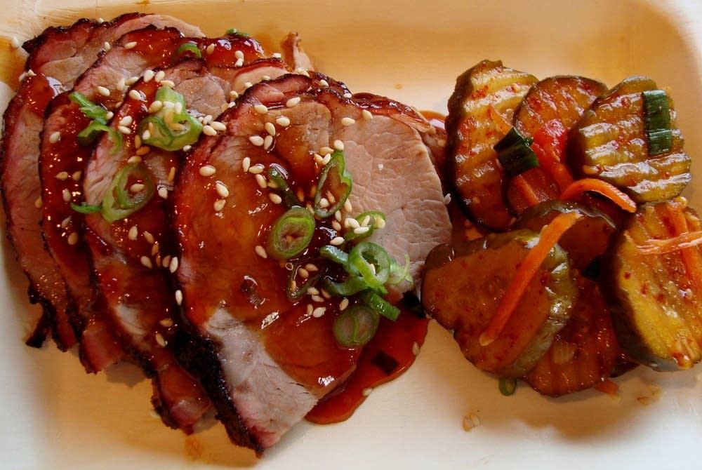 BBQ pork collar