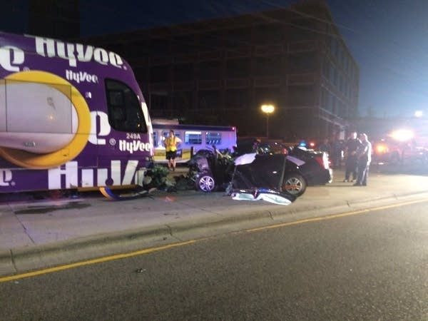 The crash that killed Nicholas Westlake