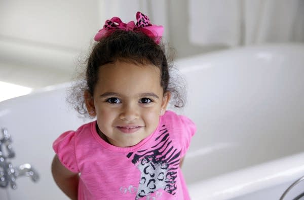 Veronica, 3, a child at the center of an international adoption dispute