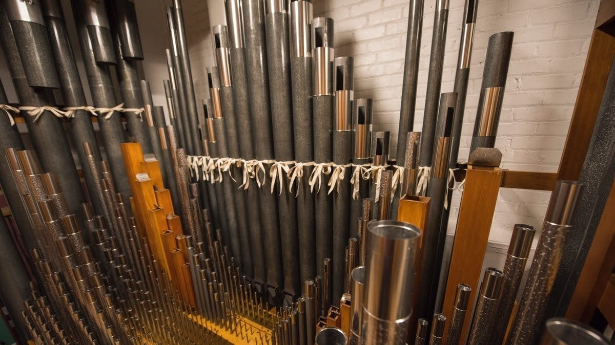 Newly restored organ at Northrop Auditorium