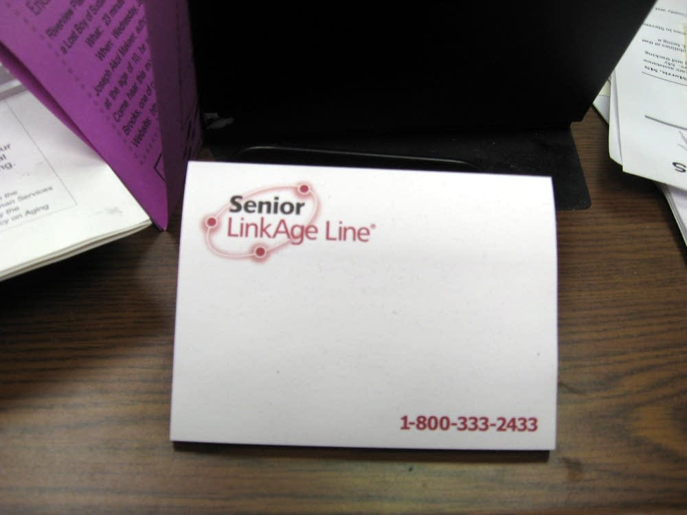 Senior link - a help line