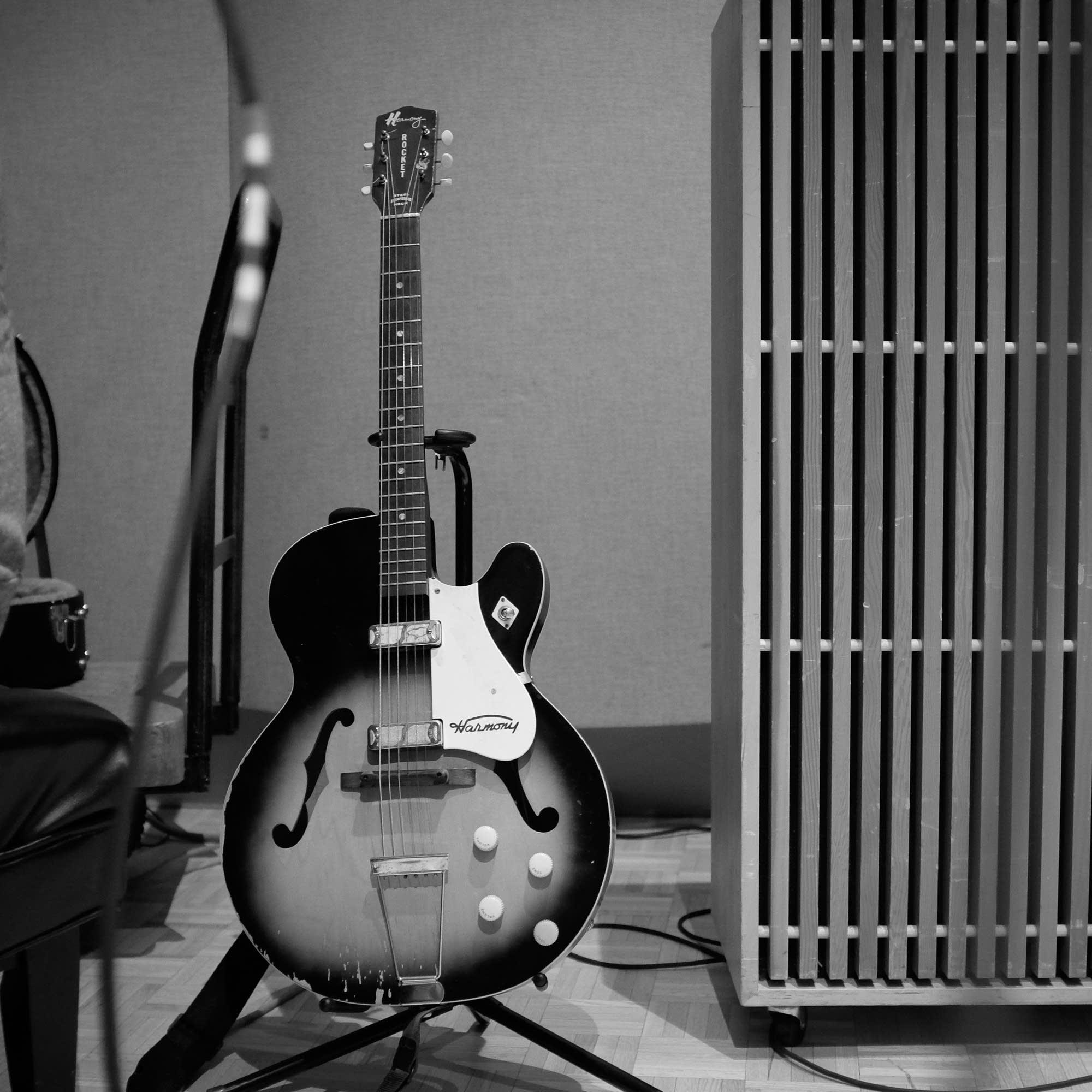 J Roddy Walston's guitar