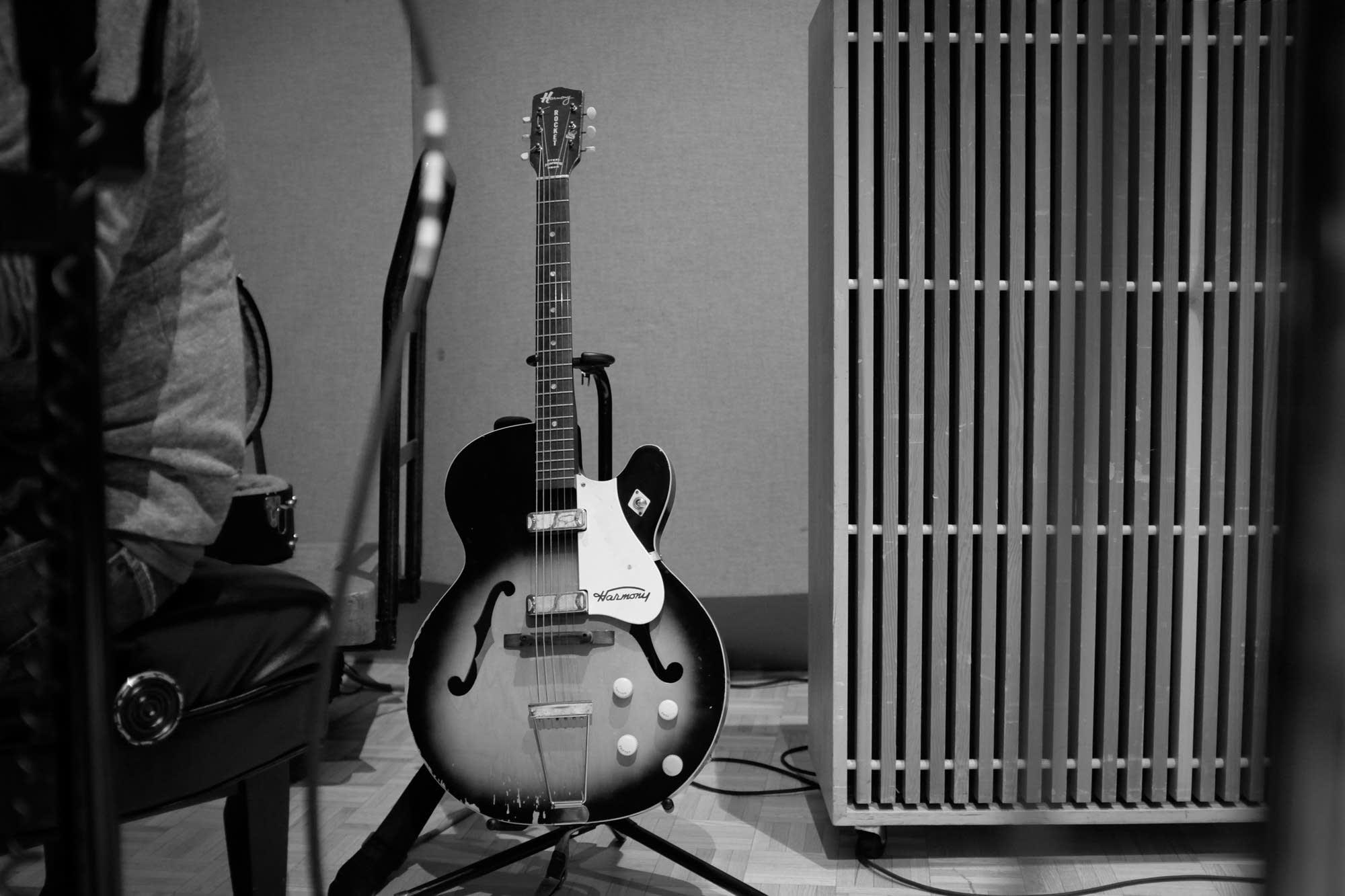 J Ruddy Walston's guitar
