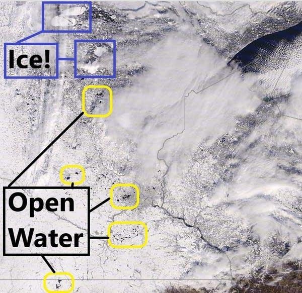 NASA MODIS 1,000-meter visible satellite