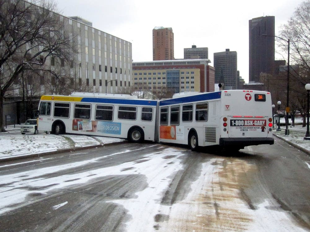 No Injuries In Monday S Icy Commute Mpr News