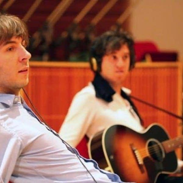 Thomas Mars and Christian Mazzalai