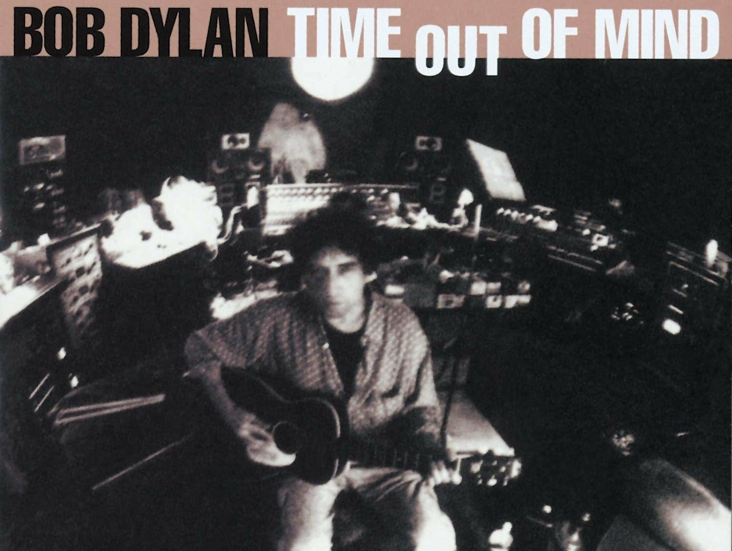 Bob Dylan 'Time Out of Mind' album cover.