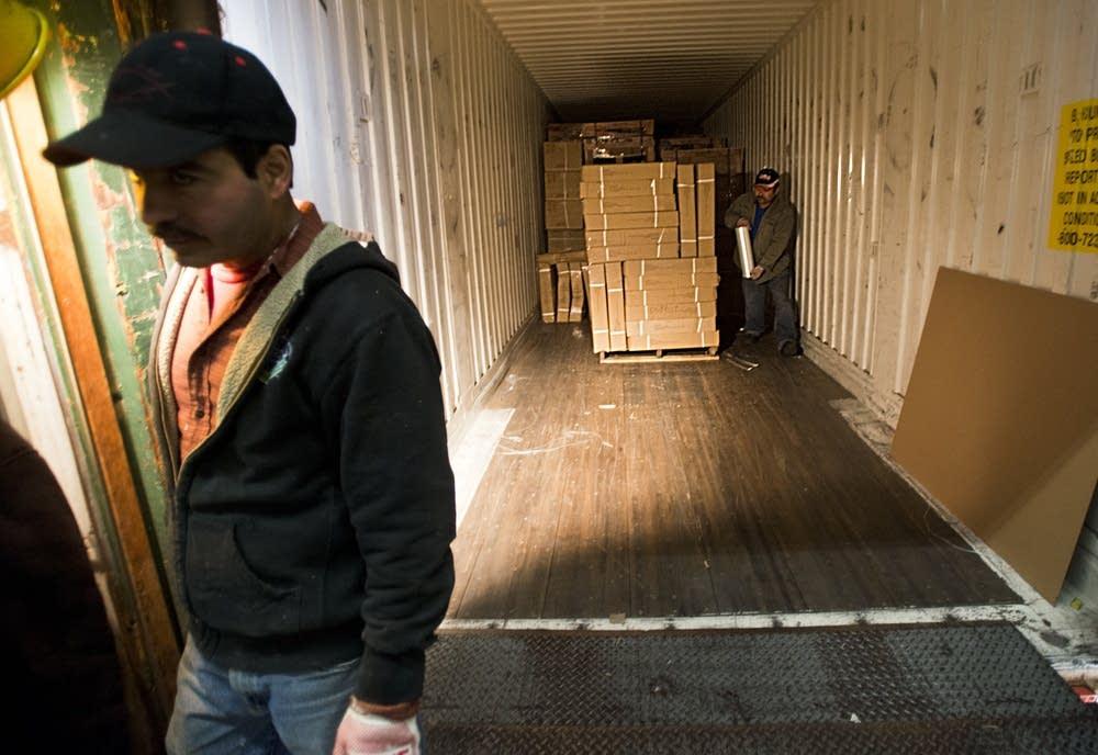 Prepping a shipment