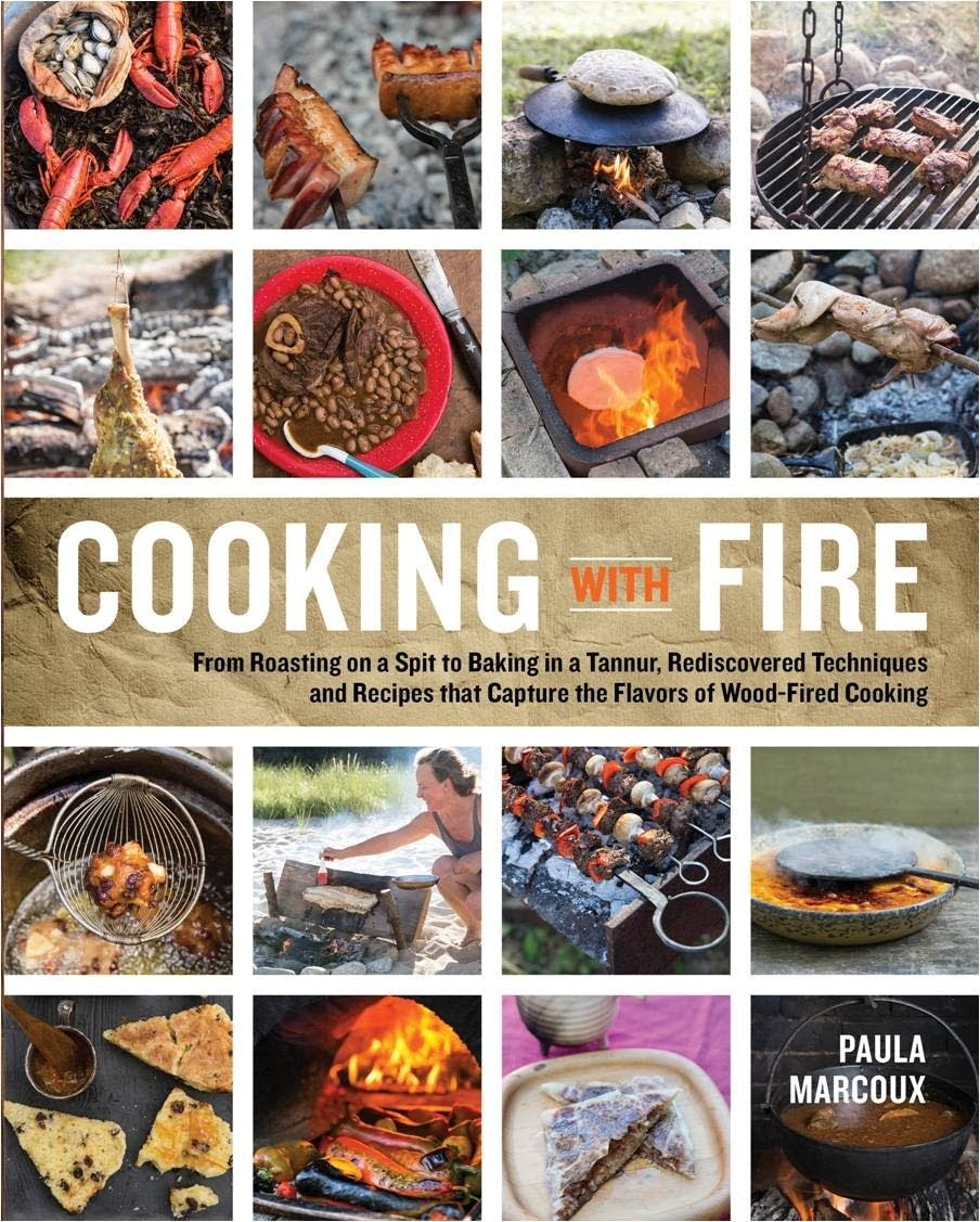 """Cooking With Fire"" by Paula Marcoux."