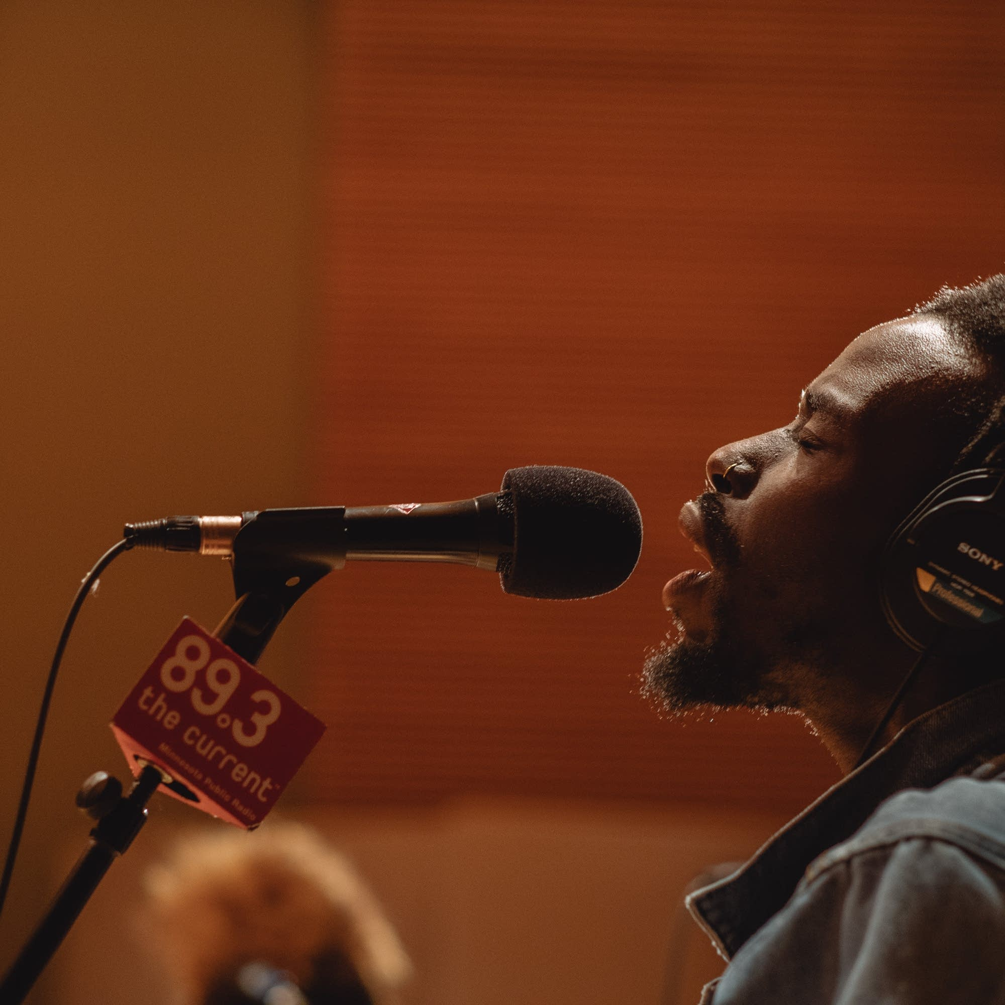 Black Pumas studio session