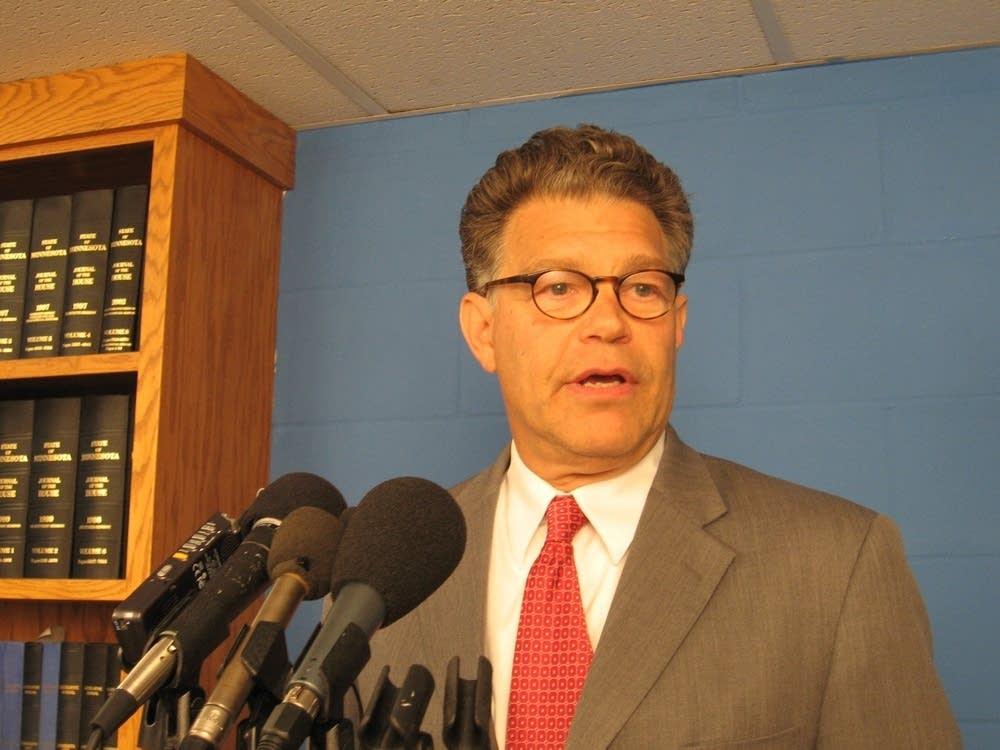 DFL candidate Al Franken