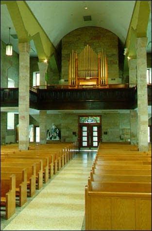 1900 Pilcher organ (Op. 378) at the Roman Catholic church in Saint...