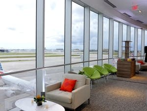 Lounge At Miami International Airport