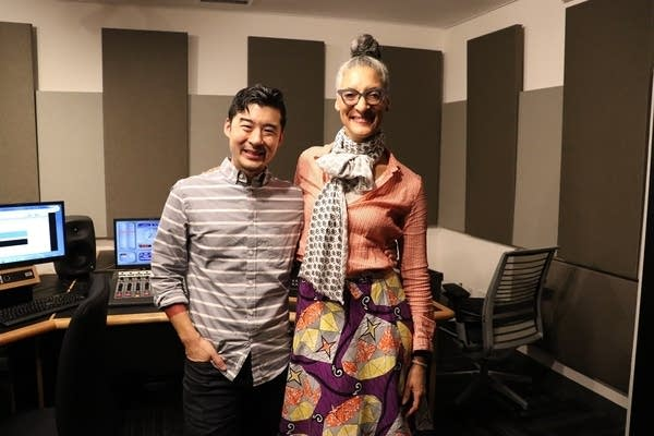 Francis Lam and Carla Hall